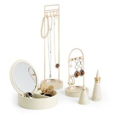 Beautify Set of 5 Jewellery Organisers Dressing Table Storage Display Stand