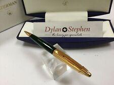 Waterman Edson emerald green ballpoint pen NEW + boxes