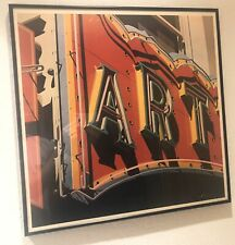 ART  --   original signed lithograph by ROBERT COTTINGHAM