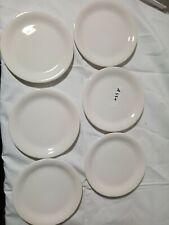 A551       Zeller Keramik weiß  Kuchen Teller    15 cm +-