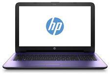 HP 15-ac041na 15.6 Inch Intel Pentium 1.9 GHz 8GB 2TB Windows Laptop - Purple