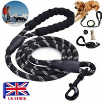 Rope Dog Lead Strong Training Pet Leash 5 ft Long for Dogs Small Medium Large UK