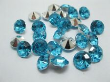 1000 Diamond Confetti 8mm Wedding Party Table Scatter- Blue