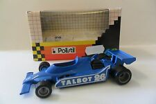 POLISTIL 1:41 AUTO DIE CAST CAR LIGIER JS11 BLU BLUE CON DECALS  ART 052003