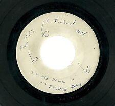 "CLIFF RICHARD - Living Doll No Turning Back White Label 7"" 45 Test Press/Demo?"