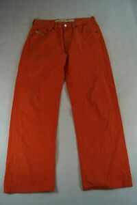 Diesel Jeans Cheyenne Straight-Cut W33 L32 33/32 orange uni -627