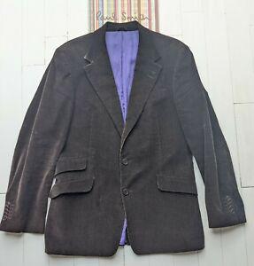 Paul Smith Man's Fine Corduroy / Velvet Jacket Size L - 40 Chest- cost over £500
