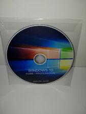 DVD - WINDOWS 10 PROFESSIONAL / HOME ENGLISH - 64 BIT FULL (MICROSOFT)