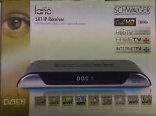 Schwaiger DSR605 lano IP Satelliten Receiver Full-HD CI+ HbbTV DLNA PVR