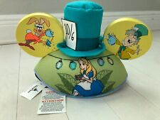 Disney ALICE IN WONDERLAND MAD HATTER MICKEY MOUSE EAR HAT Adult NEW