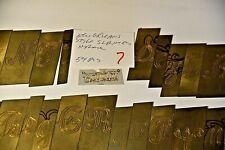 Script Monogram Slant Name Font Letters Custom Templates For New Hermes
