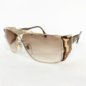 Cazal Mod 955 Sunglasses Frame Color Gold/Brown Lens Brown Gradient