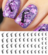 Spray Paint Can Nail Art Waterslide Decals - Salon Quality