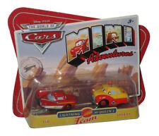 Disney Pixar Cars Mini Adventures Flo & Sheriff Red Toy Car Set