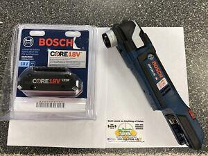 Bosch (GOP18V-28N) 18V Brushless Starlock Plus Oscill. Multi-Tool + (1) 18V 4AH