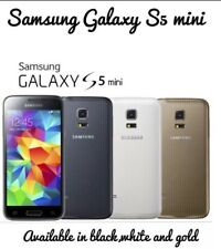 Samsung Galaxy S5 Mini Teléfono inteligente Desbloqueado Dorado SM-G800F Rayón