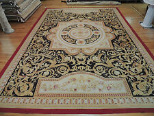 Striking Oversize/Palace  French Aubusson Style Area Rug 12x19 Oriental Area Rug