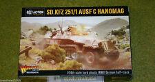 Alemán Sd. KFZ. 251/1 Ausf. C Hanomag Perno acción Warlord Games 28mm