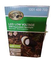 Hampton Bay Led Low Voltage 50W Equivalent Spotlight (3 pack)