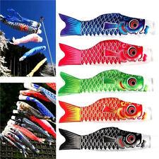 X1 Random Japanese Koinobori Carp Wind Sock Anime Fish Flag Windsock Koi Gift