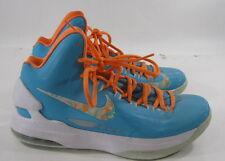 Nike Zoom Kd V Easter Turquoise Blue Bri Citrus Fiberglass 554988-402  Size 9.5