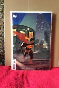 SUPERMAN # 10 HUGHES VARIANT EDITION FIRST PRINT DC COMICS