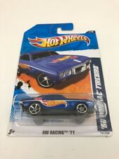 2011 Hot Wheels '69 Pontiac Firebird HW Racing 11 Blue 1969 Car 157/244 NIB