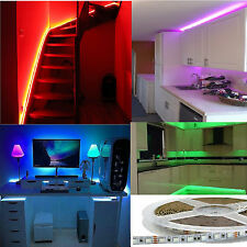 1 Mt STRISCIA strip LED RGB 24V 12W/mt 60 LED smd 5050 alta luminosità