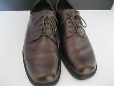MEN'S ROCKPORT BROWN CASUAL LACE UP OXFORDS SIZE 11M PRE-OWNED