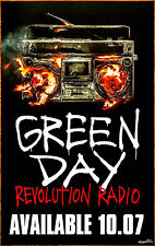 GREEN DAY Revolution Radio 2016 Ltd Ed LARGE RARE Poster +FREE Punk Rock Poster!