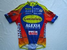CANTINA TOLLO HOLIDAY ALEXIA Race Team Jersey Shirt Racing Road Bike Cycling M