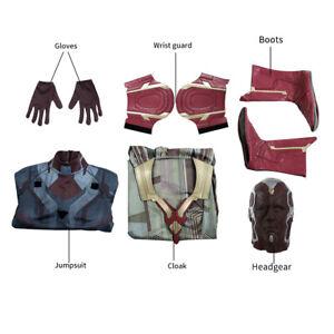 DFYM Avengers Endgame Superhero Vision Cosplay Costume Outfit Clothing Halloween