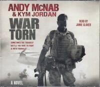 Andy McNab Kym Jordan War Torn 5CD Audio Book Abridged Adventure FASTPOST