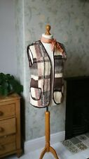 ladies vintage waistcoat rustic 70s fashion 1970s clothing womens sleeveless.