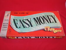 Vintage Milton Bradley EASY MONEY Boardgame Buying Selling Building Banking GAME