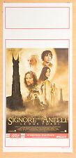 LOCANDINA, IL SIGNORE DEGLI ANELLI LE DUE TORRI-The Lord of the Rings, EPICO