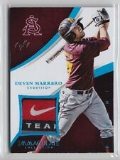 2015 Immaculate Deven Marrero Nike Swoosh Logo Tag Patch Rc (1/1)