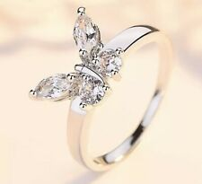 butterfly ring sterling silver