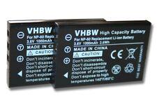 2x BATTERIE POUR Baofeng UV-100, UV-200, UV-3R, UV-3R Mark II 2