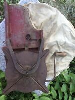 Vintage Antique Hand Crank Mechanical Seed Spreader Rustic Farm Tool