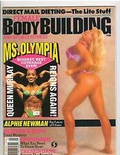 Female Bodybuilding Women's Fitness Magazine/Alphie Newman 5-94 #39