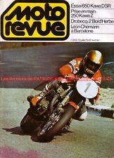 MOTO REVUE 2422 KAWASAKI Z 650 D SR Z650 Z250 Can Am 250 HONDA de GP 1979
