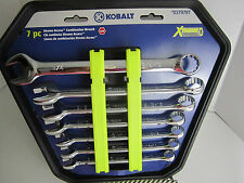 Kobalt 7 Pc Xtreme Access Combination Wrenchs SAE 0379797, 099198862453  New