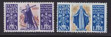 ITALIE POSTE AERIENNE N° 129 & 130 ** MNH neufs sans charnière, TB, cote: +160 €