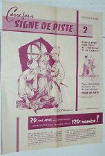 RARE CARREFOUR N°2 1958 CATALOGUE SIGNE DE PISTE ALSATIA PIERRE JOUBERT SCOUT