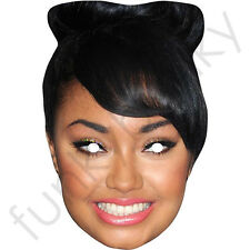 Little Mix Leigh-Anne Pinnock Card Mask - All Our Masks Are Pre-Cut!