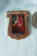 WILLABEE & WARD PIN THE POPE AVILA DE LOS CABALLEROS, SPAIN  NOVEMBER 1982