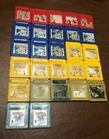 ONE - AUTHENTIC NEW BATTERY Pokemon Red Blue Yellow Silver Gold Crystal