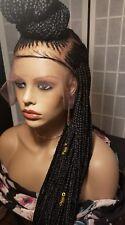 FULL LACE Wig /French braid top bun w/ bleach knots