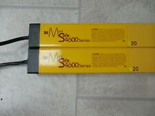 "STI Mini Safe 4600 48"" Light Curtain Transmitter and Receiver MS46-20-1215-Q1-X"